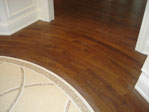 Curved Flooring